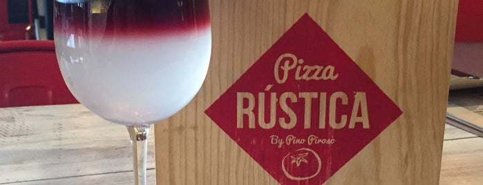 Pizza Rústica is one of Food.