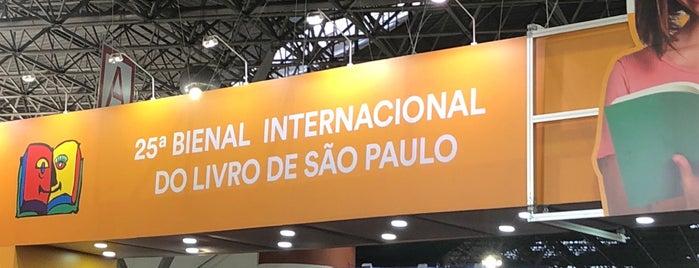 25ª Bienal Internacional do Livro de São Paulo is one of Lugares favoritos de Cássia.