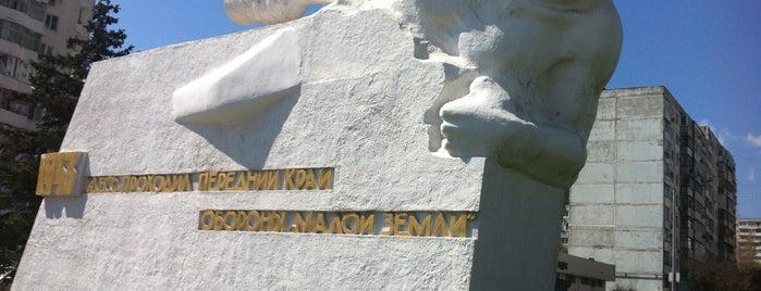 Памятник неизвестному матросу is one of สถานที่ที่ Денис ถูกใจ.