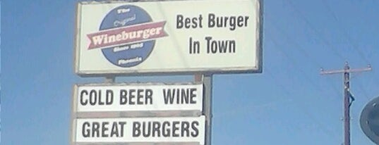The Original Wineburger is one of Phoenix Burgers.
