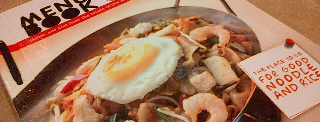 Qua-Li Noodle & Rice is one of BandoengKuliner.