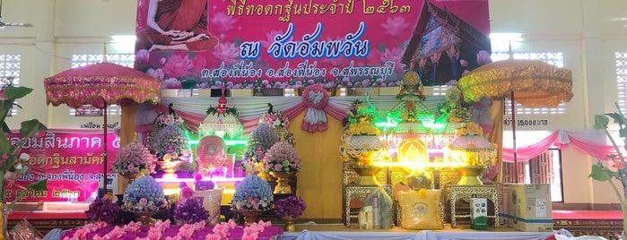 วัดอัมพวัน is one of 05_ตามรอย_inter.