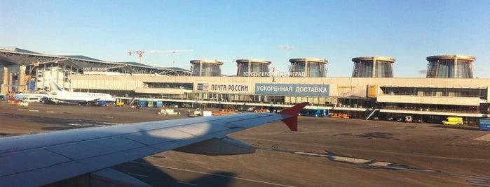 Pulkovo International Airport (LED) is one of Top-20: Санкт-Петербург.