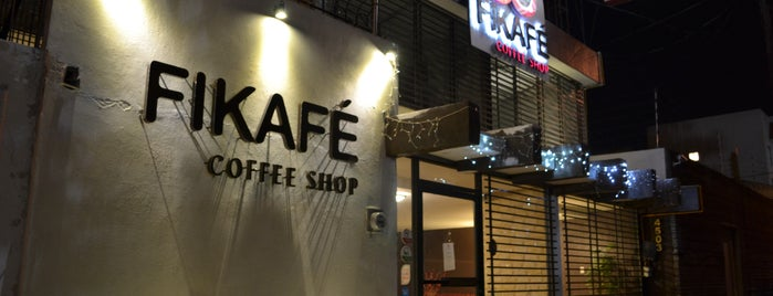 Fikafé Coffee Shop is one of Puebla BiciAmigable.