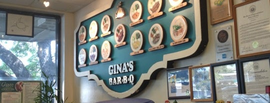Gina's Bar-B-Q is one of Oahu, Hawaii.