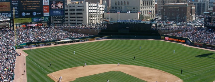 Comerica Park is one of MLB Ballparks Tour.