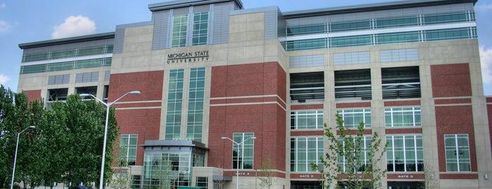 Spartan Stadium is one of Big Ten Tour.
