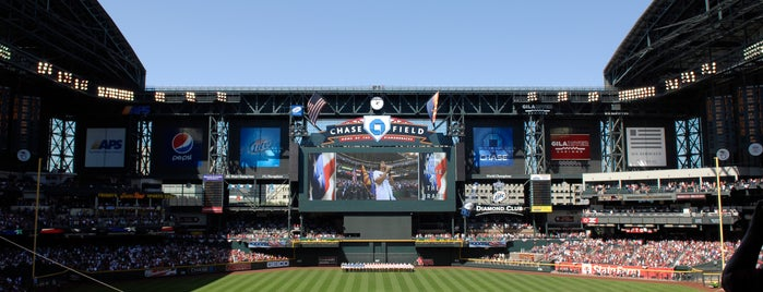 Chase Field is one of MLB Ballparks Tour.