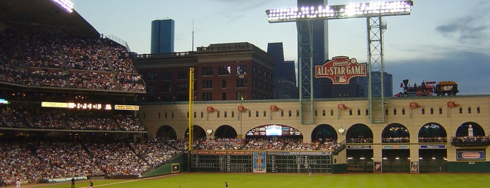 Minute Maid Park is one of MLB Ballparks Tour.