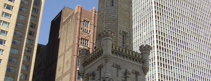 Chicago Water Tower is one of USA Roadtrip.