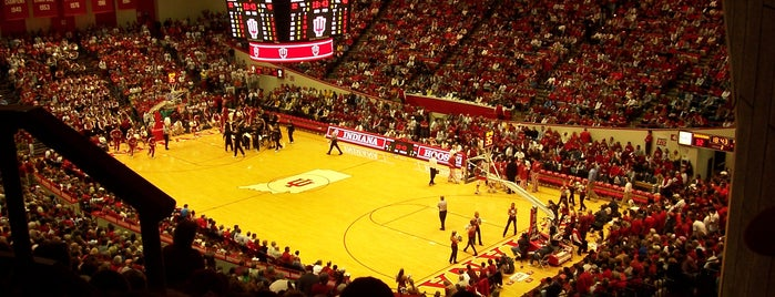 Assembly Hall is one of Big Ten Tour.