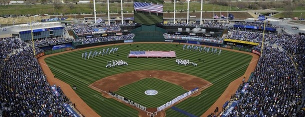 Kauffman Stadium is one of MLB Ballparks Tour.