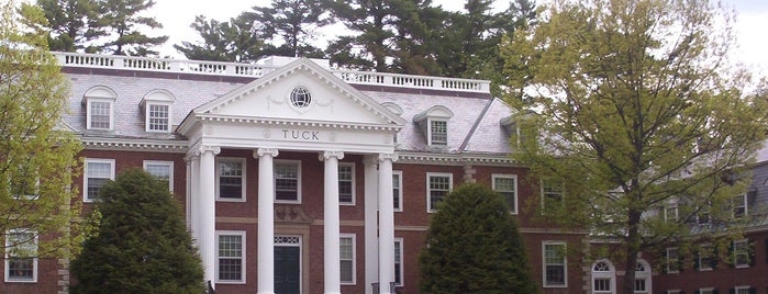 Tuck School of Business at Dartmouth is one of Ivy League Tour.