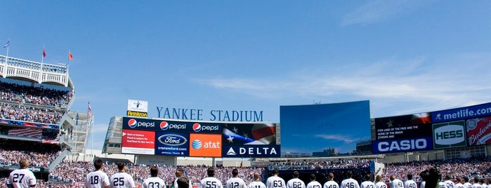 Yankee Stadium is one of MLB Ballparks Tour.