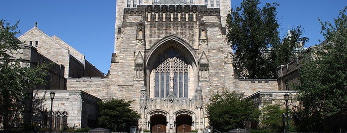 Sterling Memorial Library is one of Ivy League Tour.