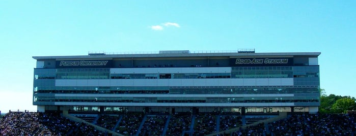 Ross-Ade Stadium is one of Big Ten Tour.