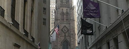 Trinity Church is one of Historic NYC Landmarks.