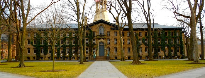 Nassau Hall is one of Revolutionary War Trip.