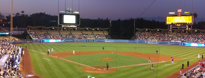 Dodger Stadium is one of California Baseball.