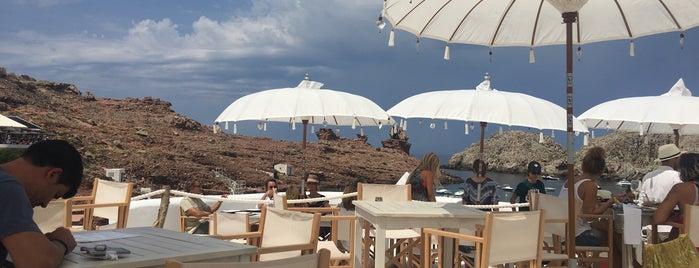 Ivette Beach Club is one of Menorca.