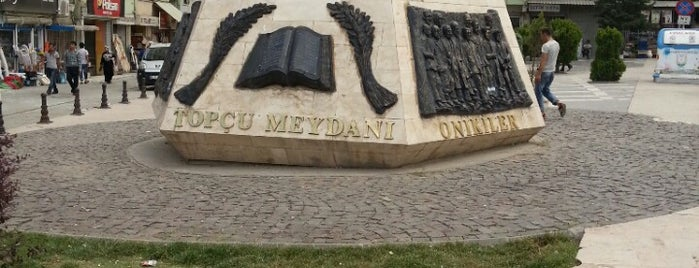 Topçu Meydanı is one of Gizemliさんの保存済みスポット.