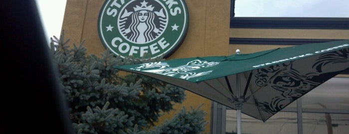 Starbucks is one of gotta go places.