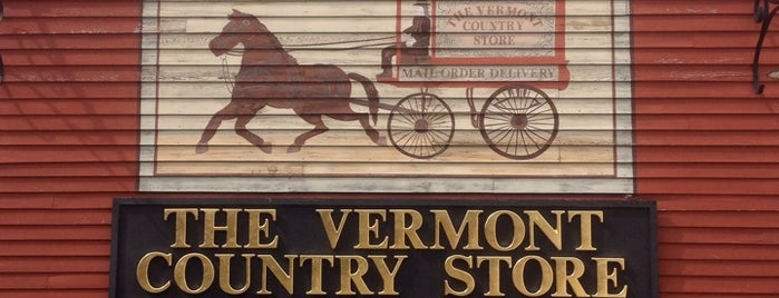 Vermont Country Store is one of Vermont.