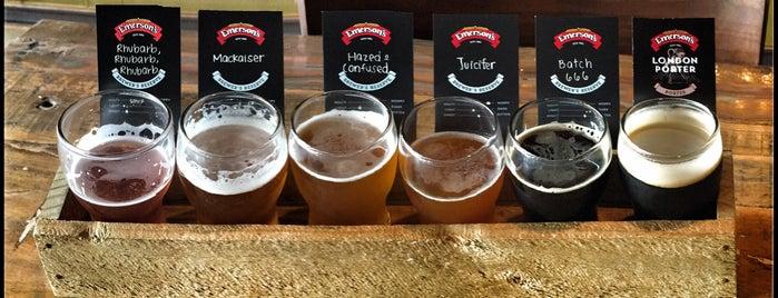 Emerson's Brewery is one of Nuova Zelanda.