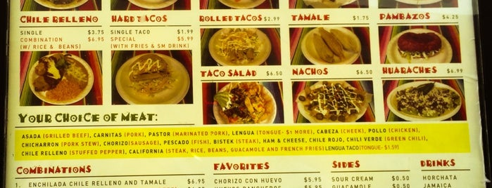 Tacos La Mexicana is one of Stuff I haven't done in Vegas Yet.