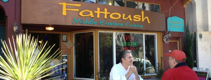 Fattoush is one of Non-Zeitgeist Patios in SF.