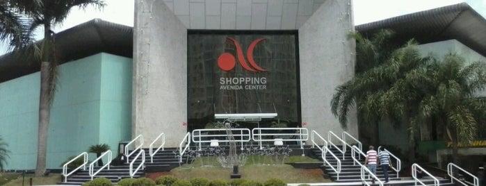 Shopping Avenida Center is one of Káren : понравившиеся места.