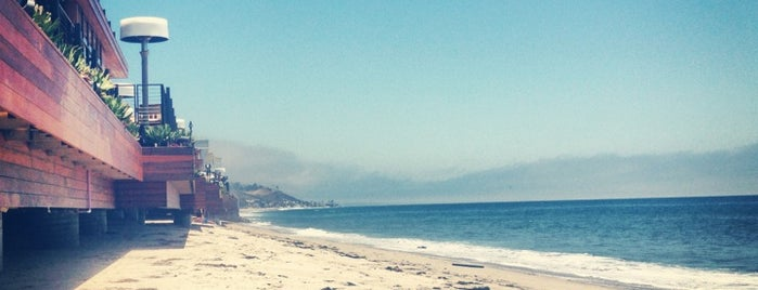 Malibu Colony Beach is one of Socal.