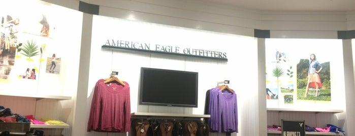 American Eagle Store is one of Tempat yang Disukai Austin.
