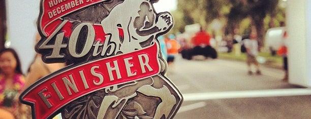 Honolulu Marathon 2012 Finish Line is one of ランニング大好き♥.