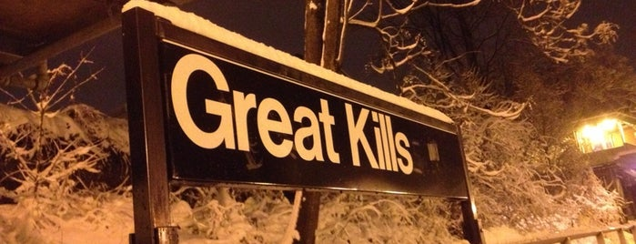 MTA SIR - Great Kills is one of Orte, die Alan-Arthur gefallen.