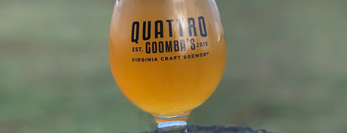 Quattro Goomba's Brewery is one of Date Spots.