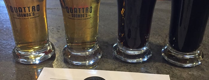 Quattro Goomba's Brewery is one of Loudoun Ale Trail.