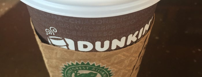 Dunkin' is one of Favorite's.