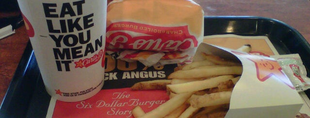 Carl's Jr. is one of Locais curtidos por Axel.