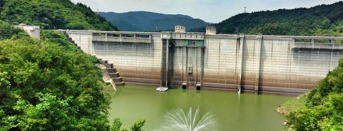 小里川ダム is one of arakawaさんの保存済みスポット.