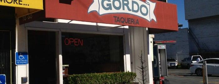 Gordo Taqueria is one of Tempat yang Disukai Alberto J S.