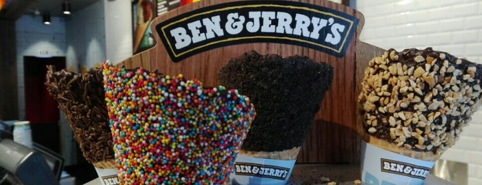 Ben & Jerry's is one of Auckland NZ.