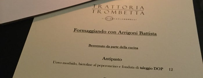 trattoria trombetta is one of Milano.
