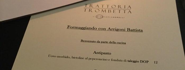 trattoria trombetta is one of Milano.