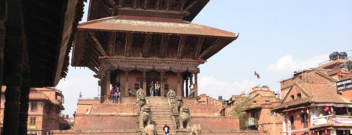 Durbar Square is one of Nepal.