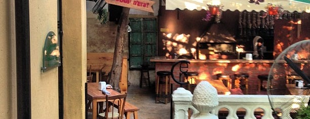 Cafe Em Nazih is one of لبنان- بيروت.