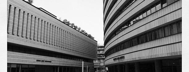Συνεδριακό Κέντρο Εθνικής Ασφαλιστικής is one of Orte, die Tasos gefallen.