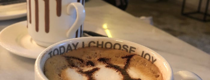 Joy Cafe is one of Riyadh coffee.