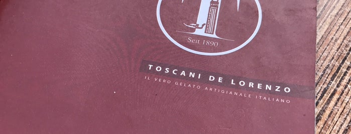 Toscani Eiscafé is one of Beste Eisdielen.