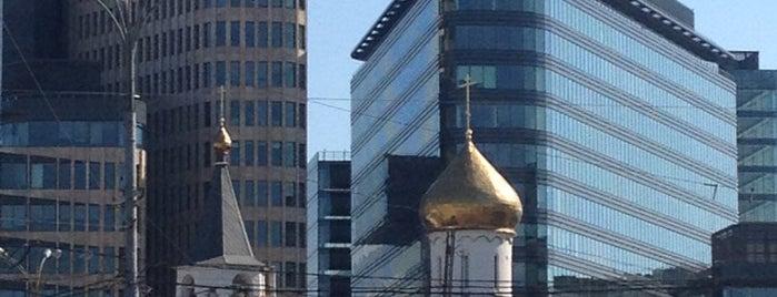Площадь Тверская Застава is one of рядом с домом.